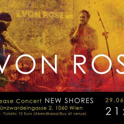 "EVON ROSE - Single Release Concert ""New Shores"""